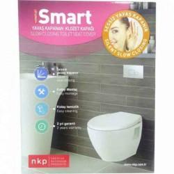 NKP Smart Thermoplast Yavaş Kapanan Klozet Kapağı